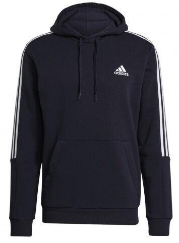 Джемпер Adidas Essentials Fleece 3 Stripes Hoodie GK9584 Blue M