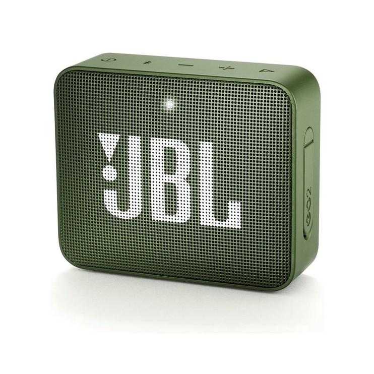 Belaidė kolonėlė JBL Go 2 Moss Green, 3 W