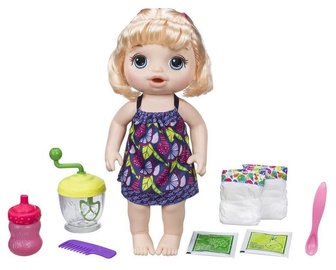 Hasbro Baby Alive Sweet Spoonfuls Baby Doll Girl Blonde