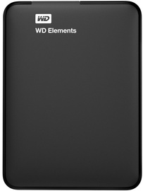 Жесткий диск Western Digital WDBU6Y0040BBK-WESN/4TB, HDD, 4 TB, черный