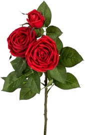 Kunstlill Home4you Artificial Flower Rose Red