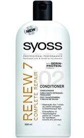 Plaukų kondicionierius Syoss Renew 7 Complete Repair Conditioner, 500 ml