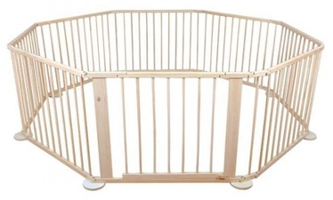 Mportas 8 Piece Wooden Safety Fence