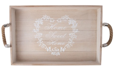 Home4you Jardin-2 Tray Brown Wood
