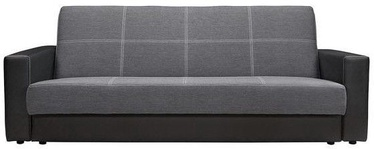 Black Red White Sofa Bed Nova Black/Light Grey