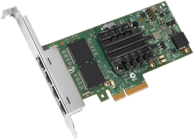 Intel Gigabit Ethernet Adapter 4 x RJ45 BULK I350T4V2BLK
