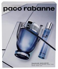 Набор для мужчин Paco Rabanne Invictus 100 ml EDT + 20 ml EDT