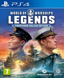 World of Warships: Legends Firepower Deluxe Edition PS4