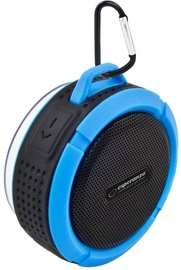 Belaidė kolonėlė Esperanza EP125 Country Bluetooth Speaker Black/Blue