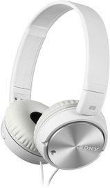 Sony MDR-ZX110NA On-Ear Headset White Silver