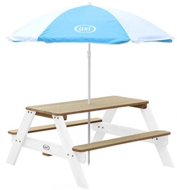 Axi Nick Picnic Table Brown/White A031.003.01