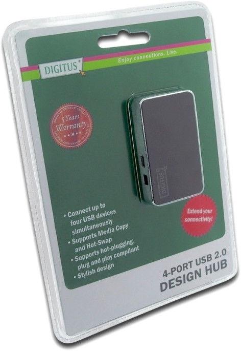 Digitus DA-70220 4-port USB 2.0 Hub
