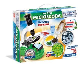 Žaislinis rinkinys Clementoni Mano pirmasis mikroskopas, nuo 8 m.