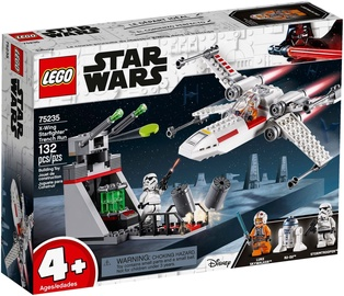 Konstruktorius LEGO Star Wars X-Wing Starfighter Trench Run 75235