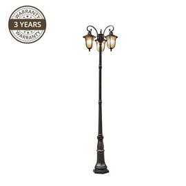 Светильник Domoletti 004-PL-3 Garden Light 3x60W Matt Black