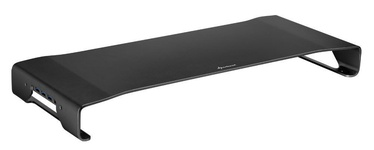 Sharkoon Aluminium Monitor Stand Pro Black