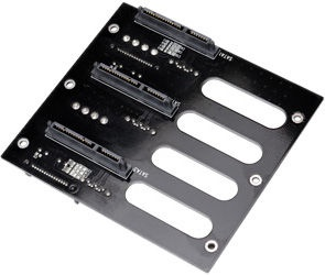 Lian Li BP3SATA 3 Bay to HDD SATA Hotswap Backplane