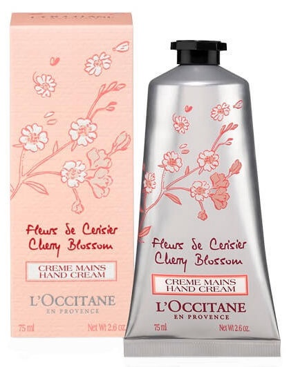 Rankų kremas L´Occitane Cherry Blossom, 75 ml