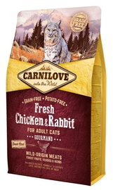 Carnilove Adult Cat Fresh Chicken & Rabbit 2kg