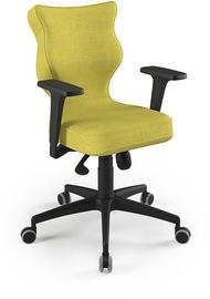 Entelo Perto Black Office Chair DC19 Olive