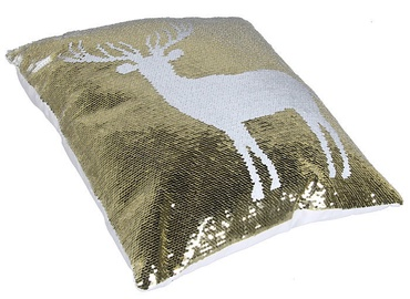 4Living Glitter Decorative Pillow Deer 40x40cm
