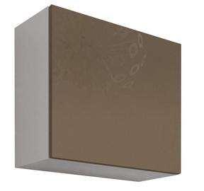 Cama Meble Vigo Square Cabinet White/Latte Gloss