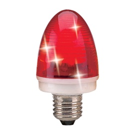 Stroboskopinė lemputė QS-006 LED 1X3W E27