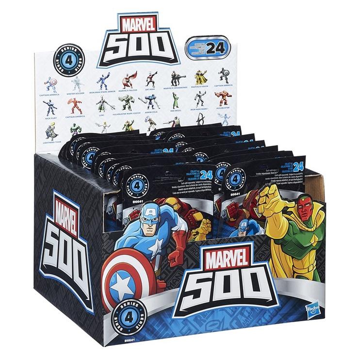 Marvel 500 figuurid erinevad