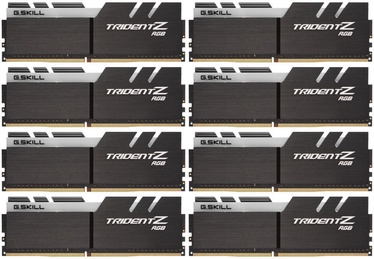 G.SKILL Trident Z RGB 64GB 4000MHz CL18 DDR4 KIT OF 8 F4-4000C18Q2-64GTZR