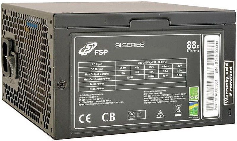 Fortron FSP ATX 2.3 88+ 600W OEM FSP600-50ARN 88+