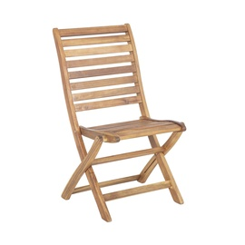 Home4you Cherry Garden Chair Brown