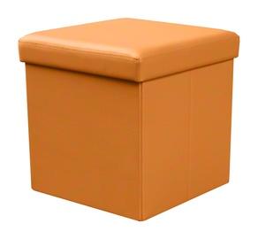 Pufas MOLY, oranžinis