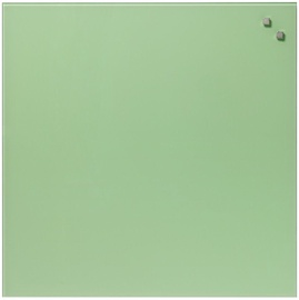 Naga Magnetic Glassboard Retro Green 45x45cm