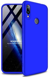 Чехол GKK 360 Protection Case For Xiaomi Redmi 7 Blue