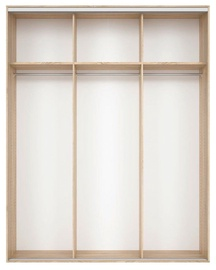 Black Red White Wardrobe Frame Nadir 190 Light San Remo Oak