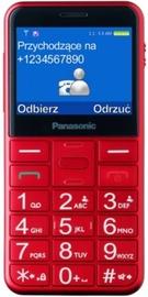 Мобильный телефон 5025232910946 Panasonic KX-TU150, красный