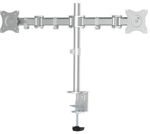 NewStar Flat Screen Desk Mount 10-27'' Silver