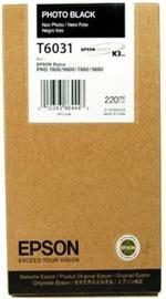 Кассета для принтера Epson C13T603100, черный, 220 мл
