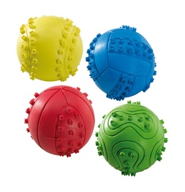 Ferplast Rubber Ball 6cm PA 5537 Yellow/Blue/Red/Green