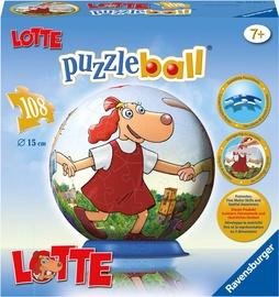 3D mīkla Ravensburger Ball Lotte 122288, 108 gab.