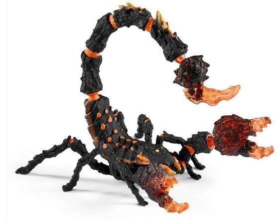 Žaislinė figūrėlė Schleich Lava Scorpion 70142