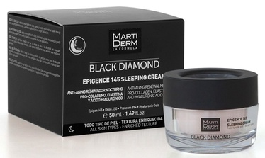 Крем для лица Martiderm Black Diamond Epigence 145 Sleeping Cream, 50 мл