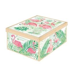 Daiktadėžė Flamingos 8006843990913, 390 x 500 x 240, kartoninė