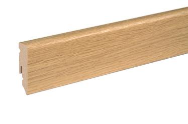 Põrandaliist MDF Spoon tamm valge 15x50x2400mm