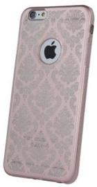 Mocco Ornament Back Case For Samsung Galaxy J7 J730 Rose Gold