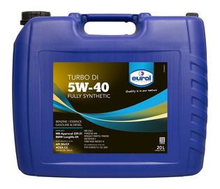 Eurol Turbo DI 5W40 Synthetic Oil 20l