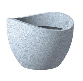 Вазон Scheurich GRANIT 250/30, серый