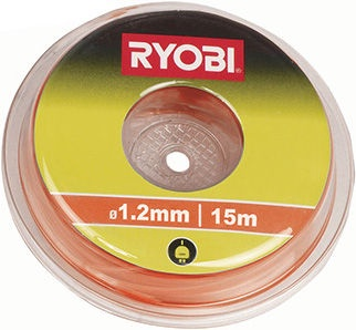 Леска для газонокосилки Ryobi 5132002637, 1.2 мм, 15 м