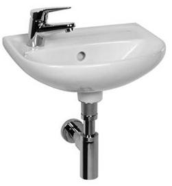 Jika Small Washbasin Lyra Plus Taphole Left 40cm