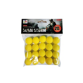 Žaislinės kulkos ZC05, 20 vnt.